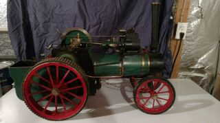 Model Live Steam Traction Engine