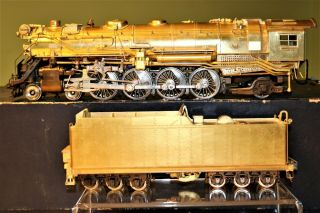 O Scale 2 - Rail Brass Ktm Us Hobbies Nyc York Central L - 2a Mohawk 4 - 8 - 2