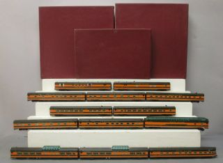 Shoreham Shops Limited Gn55 Ho Scale A1/a2/a3 Gn 1955 Empire Builder 13 - Car Set