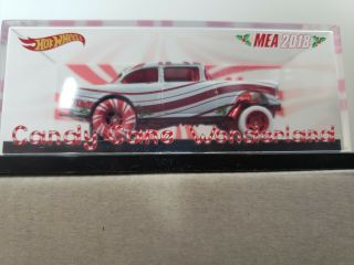 Hot Wheels Mea Candy Cane Wonderland 55