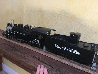Accucraft Trains - D&RGW K28 1:20.  3 Scale,  Live Steam,  Coal 4