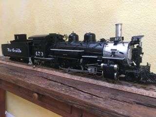 Accucraft Trains - D&RGW K28 1:20.  3 Scale,  Live Steam,  Coal 6