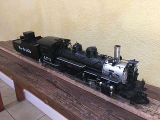 Accucraft Trains - D&RGW K28 1:20.  3 Scale,  Live Steam,  Coal 7