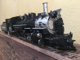 Accucraft Trains - D&RGW K28 1:20.  3 Scale,  Live Steam,  Coal 8