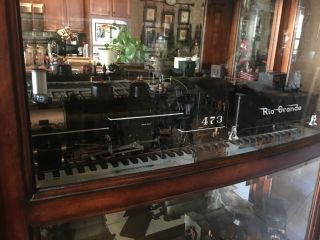 Accucraft Trains - D&RGW K28 1:20.  3 Scale,  Live Steam,  Coal 9