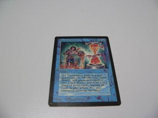 Mtg Beta Timetwister Power Nine Rare Wery