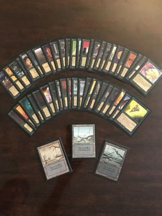 Magic the Gathering Collectors Edition Set 7