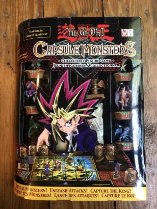 Very Rare Collector's Set - Yu - Gi - Oh Capsule Monsters Figure Game Starter Set