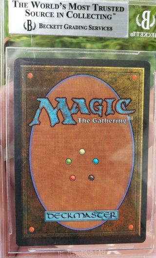 Vintage Magic | BGS 9 MTG Summer Magic Volcanic Island.  5 from 9.  5 w/10 SUBGRADE 5