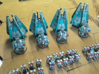 One - of - a - Kind Warhammer 40K Sons of Erin Space Marines Mega - Army Now includes. 11