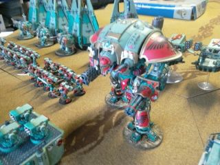One - of - a - Kind Warhammer 40K Sons of Erin Space Marines Mega - Army Now includes. 12