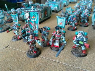 One - Of - A - Kind Warhammer 40k Sons Of Erin Space Marines Mega - Army Now Includes.
