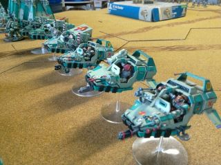 One - of - a - Kind Warhammer 40K Sons of Erin Space Marines Mega - Army Now includes. 6