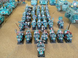 One - of - a - Kind Warhammer 40K Sons of Erin Space Marines Mega - Army Now includes. 7