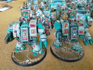 One - of - a - Kind Warhammer 40K Sons of Erin Space Marines Mega - Army Now includes. 9