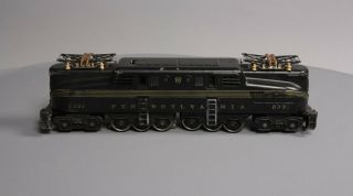 Lionel 2332 Pennsylvania Powered GG - 1 Electric Locomotive - Early Black Version 2