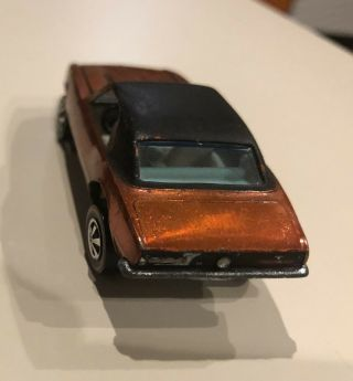 Orange Black Roof Custom Camaro Redline Hot Wheels 5