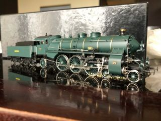 Micro - Metakit 93400h Brass K.  Bay.  Sts.  B.  S 3/6 Steam Engine
