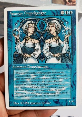 Vintage Magic | Mtg Summer Magic Vesuvan Doppleganger,