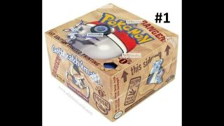 Pokemon Fossil 1st Edition Factory Booster Box - English