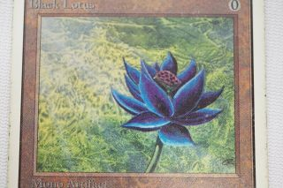 BLACK LOTUS unlimited MAGIC THE GATHERING MTG card 2