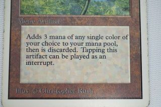 BLACK LOTUS unlimited MAGIC THE GATHERING MTG card 5