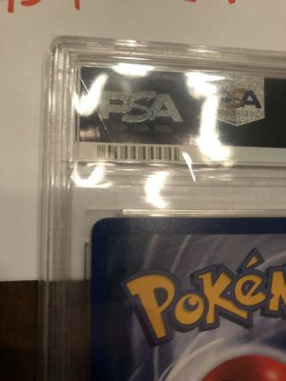 1st Edition Base Set Booster Pokemon Mewtwo PSA 10 Thick Stamp PRISTINE 6