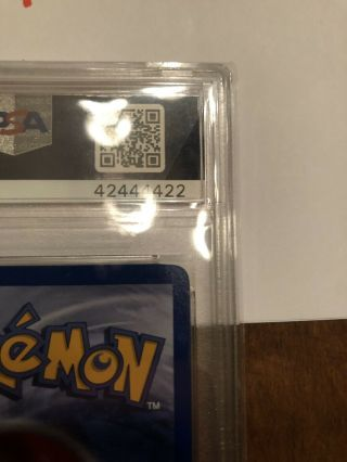 1st Edition Base Set Booster Pokemon Mewtwo PSA 10 Thick Stamp PRISTINE 7