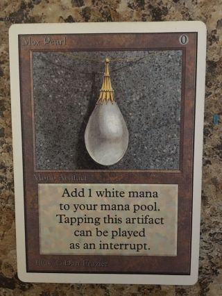 Mox Pearl - Unlimited - Very Light Play