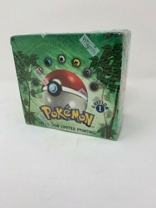 Pokemon 1st Edition Jungle Booster Box