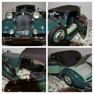 HORCH 853 BY CMC (1937) SCALE 1:12 11