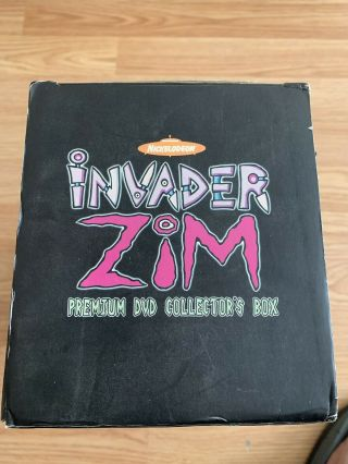 Invader Zim Collertors Dvd Box