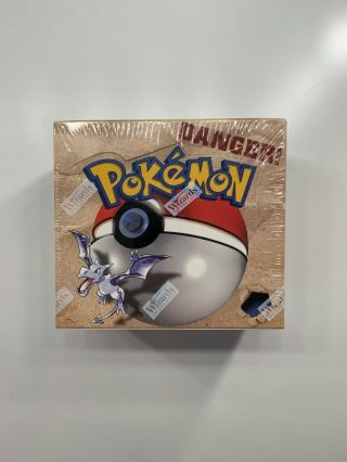 Pokemon Fossil Booster Box Unlimited Factory Wotc 1999 English