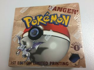 Factory Booster Box Pokemon Fossil 1st Edition (us)