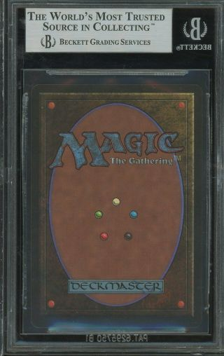 BGS 9.  0 - Beta 9 - Volcanic Island - 0.  5 away from 9.  5 - Magic MTG 1993 2