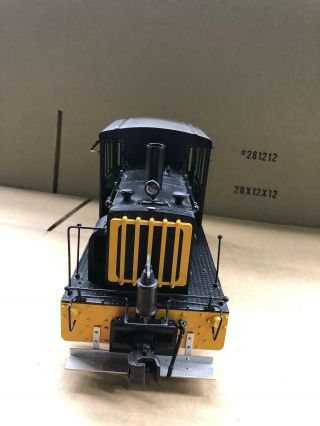 Accucraft 1:20.  3 Industrial Diesel Switcher D&rgw 50