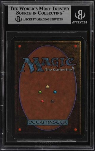 1993 Magic The Gathering MTG Alpha Dual Land Tundra R B BGS 9 (PWCC) 2