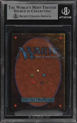 1993 Magic The Gathering MTG Alpha Time Walk R B BGS 9 (PWCC) 2
