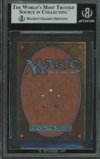 BGS 9.  0 - Alpha 9 - Chaos Orb - Magic the Gathering MTG 1993 2