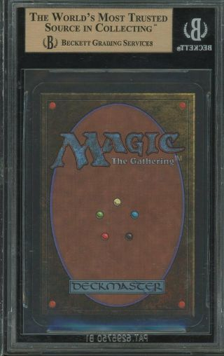 BGS 9.  5 - Alpha - Tropical Island - Magic the Gathering MTG 1993 2