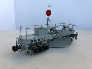 Accucraft D&rgw Flanger Od Mow Late Version Post War 1:20.  3 Fn3 Narrow Gauge