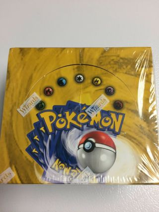 Factory Booster Box Pokemon Base Unlimited Ed.  (us)