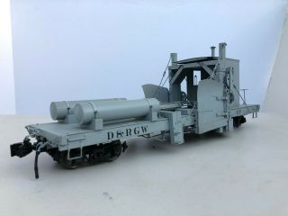 Accucraft D&rgw Ov Spreader Mow Late Version Post War 1:20.  3 Fn3 Narrow Gauge