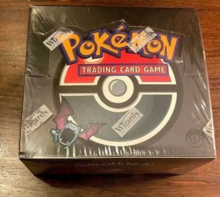 1st Edition - Team Rocket Booster Box - 36 Packs - Factory