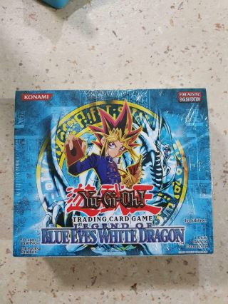 Legend Of Blue Eyes 1st Ed Booster Box
