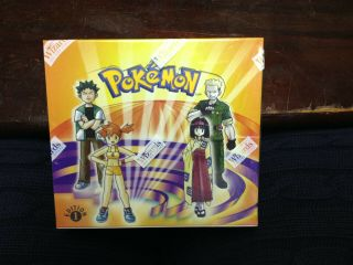 Pokemon First Edition Gym Heroes Box -