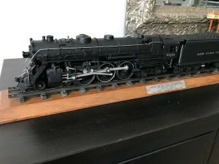 Lionel Train Locomotive 5344 and YORK CENTRAL tender pair plus track 10
