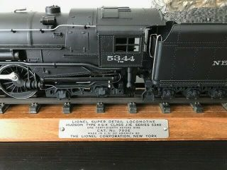 Lionel Train Locomotive 5344 and YORK CENTRAL tender pair plus track 12