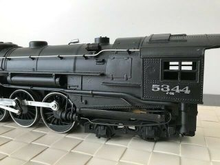 Lionel Train Locomotive 5344 and YORK CENTRAL tender pair plus track 4