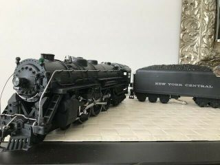 Lionel Train Locomotive 5344 and YORK CENTRAL tender pair plus track 6